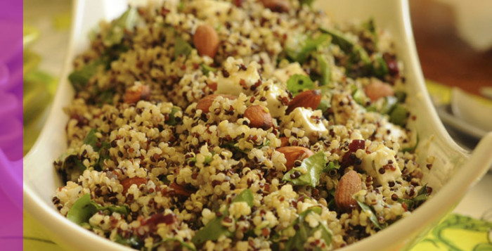QUINOA CON VEGETALES Y CRANBERRIES