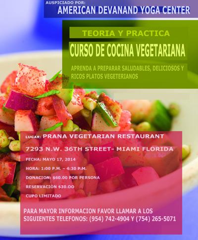Curso De Cocina Vegetariana | Curso De Cocina Vegetariana Yoga Y Meditacion