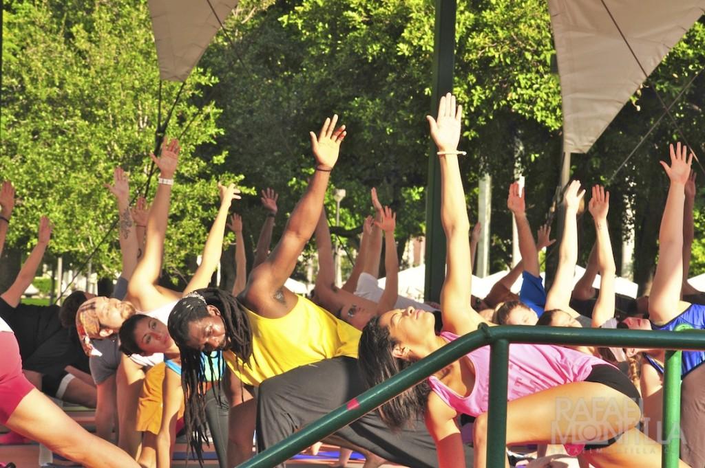 clases de yoga Bayfront Park