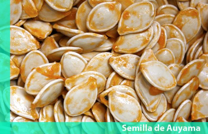 Beneficios de la semilla de Auyama