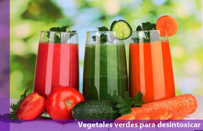 Vegetales verdes para desintoxicar el cuerpo